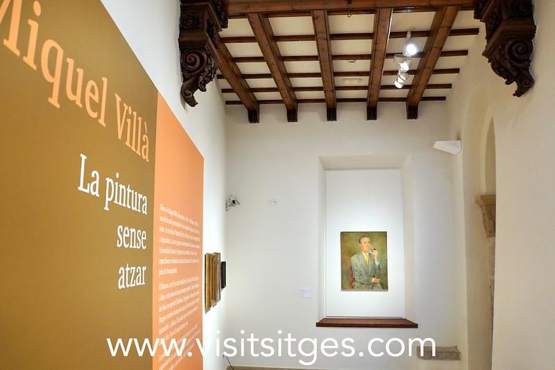 Exposición 'Miquel Villà. La pintura sense atzar' de Museus de Sitges