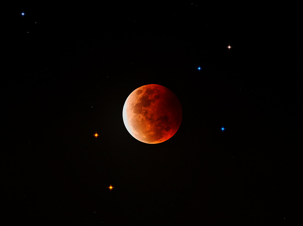 Eclipse of the Moon - May 26, 2021