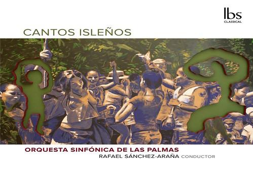 """Carátula de """"Cantos isleños"""", el primer trabajo discográfico de la Orquesta Sinfónica de Las Palmas"""