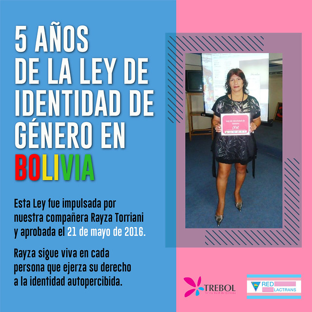 5 años de Ley Integral Trans Bolivia