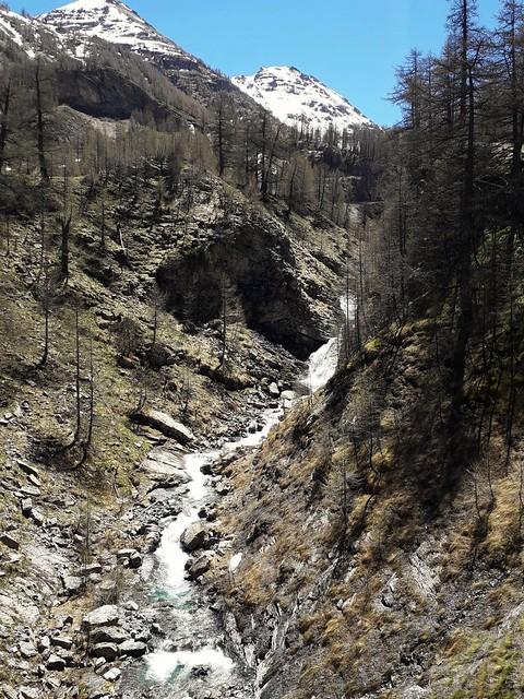 Montée vers le col de Cayolle, Parc national du Mercantour, Alpes de Haute-Provence, France.