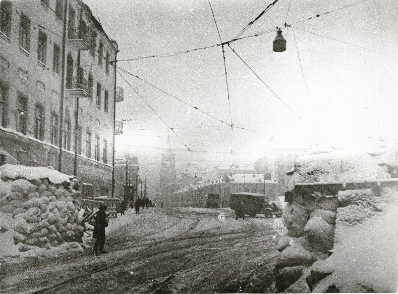 1941. Москва в 1941 г. 200 метров от Кремля