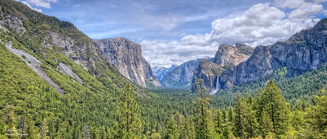 Yosemite Tunnel View, an icon of natural beauty