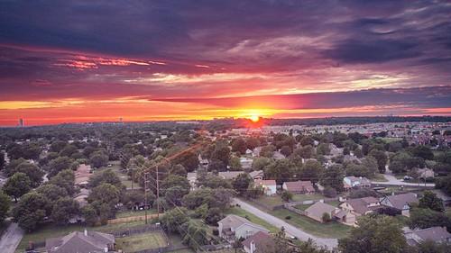 Sunset over Tulsa 2_HDR