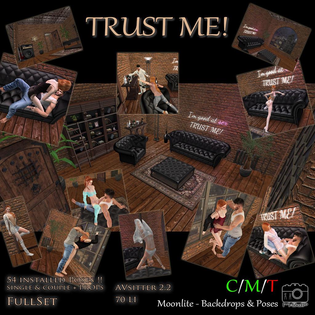 M-BdP :: TRUST ME! – Backdrop incl. Poses