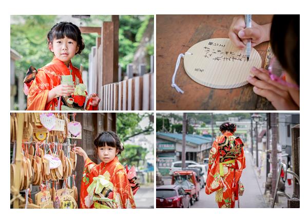 七五三 絵馬に願いを込めてご奉納 愛知県瀬戸市の深川神社