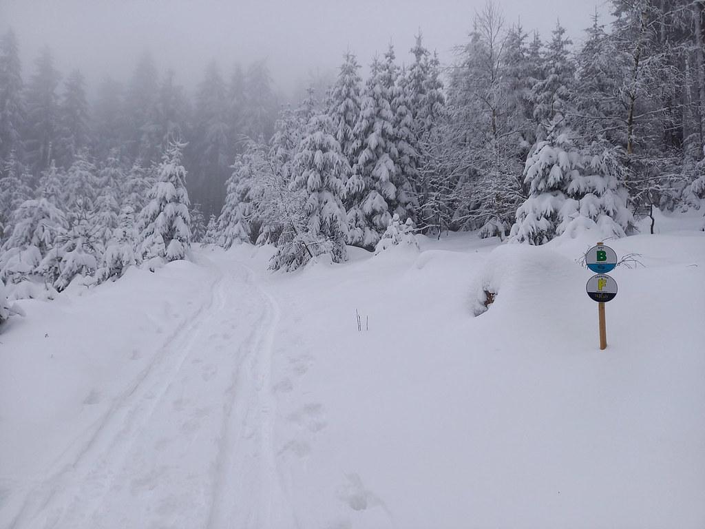 Ještěd - trasa Frantina Jizerské hory Czech photo 02