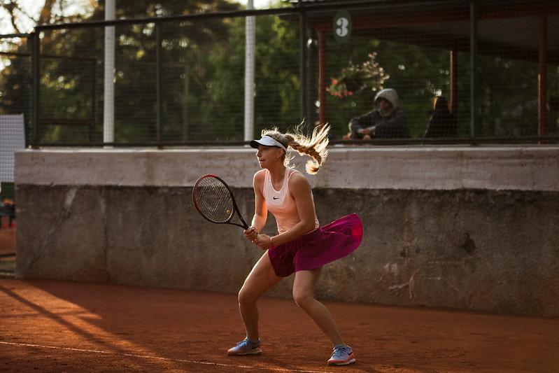 """Starptautiskās ITF pasaules tenisa tūres W25 kategorijas sacensības sievietēm """"Liepaja Open"""" 4.diena. Foto: Mārtiņš Vējš / 4th day of ITF Women's World Tennis Tour W25 category """"Liepaja Open"""". Photo: Mārtiņš Vējš"""