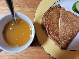 Soup and Grilled Sheese