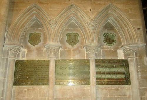 Boer War Memorial, Peterborough Cathedral