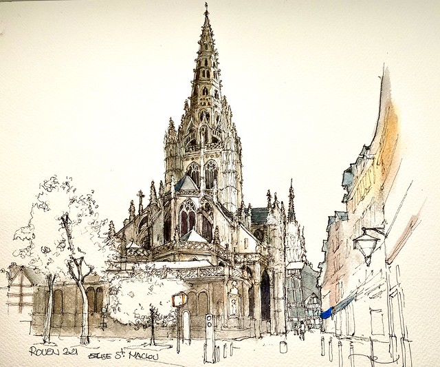 ROUEN Eglise St. Maclou