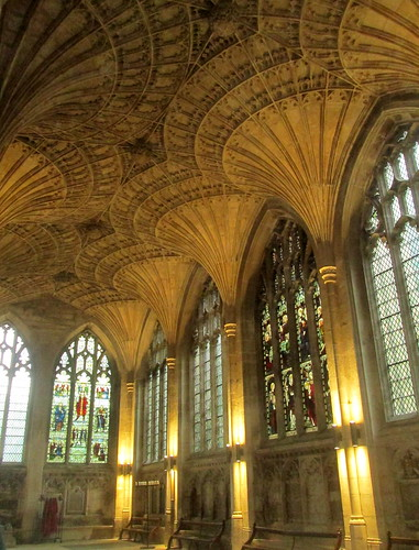 Stone Vaulting, Peterborough Cathedral