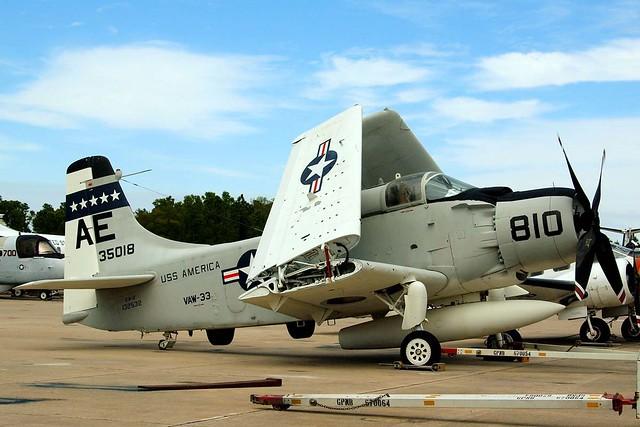 132532   (35018) Douglas EA-1F Skyraider [8927] (National Museum of Naval Aviation) Pensacola NAS~N 10/04/2010