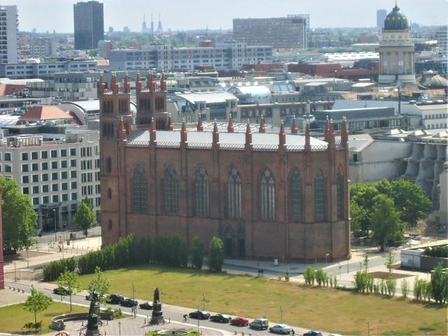 1824/31 Berlin neogotische Friedrichswerdersche Kirche 43mH (ohne Fialtürme) von Karl Friedrich Schinkel Werderscher Markt in 10117 Mitte