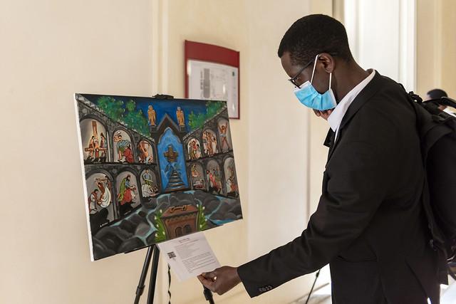 """Mostra d'arte """"Possiamo colorare la nostra fede?"""""""