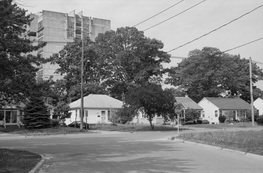Postwar Housing Meets 1970s Brutalism_