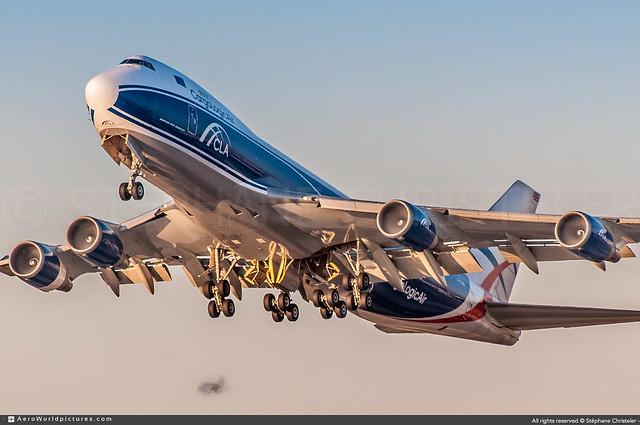 LAX.2019 | #CargoLogicair #P3 #Boeing #B747-400F #G-CLBA | #AWP-CHR