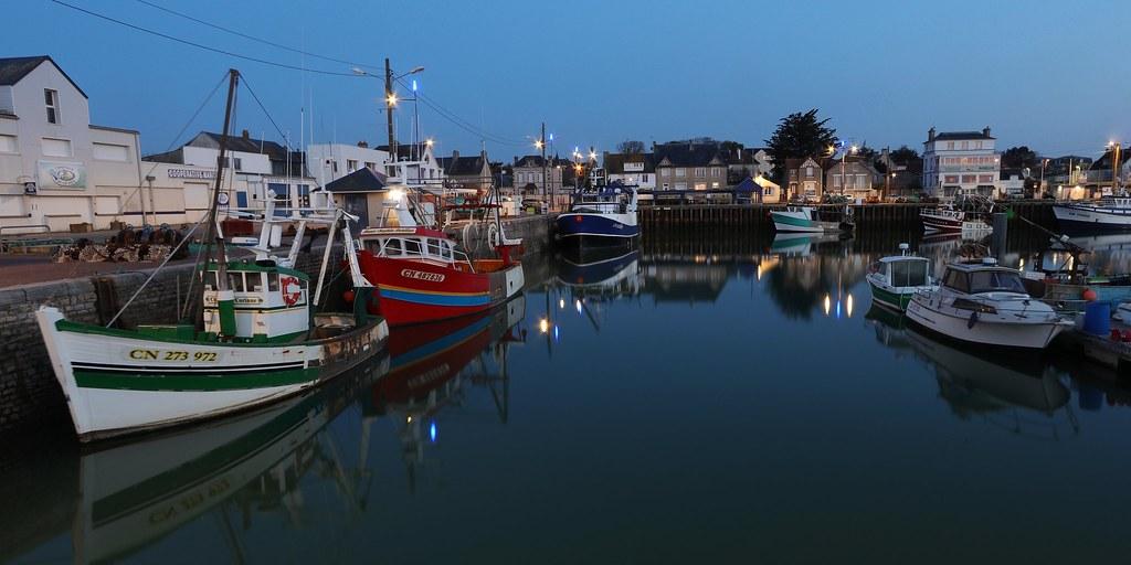 Port de Grandcamp- Maisy,  Basse-Normandie, Calvados