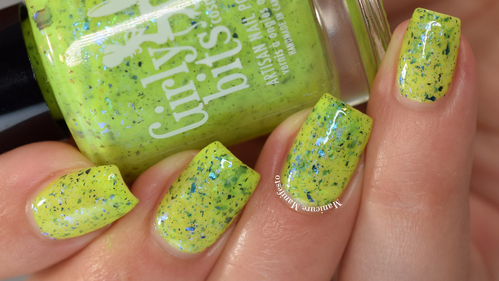 Girly Bits Things Canola Get Better Swatch