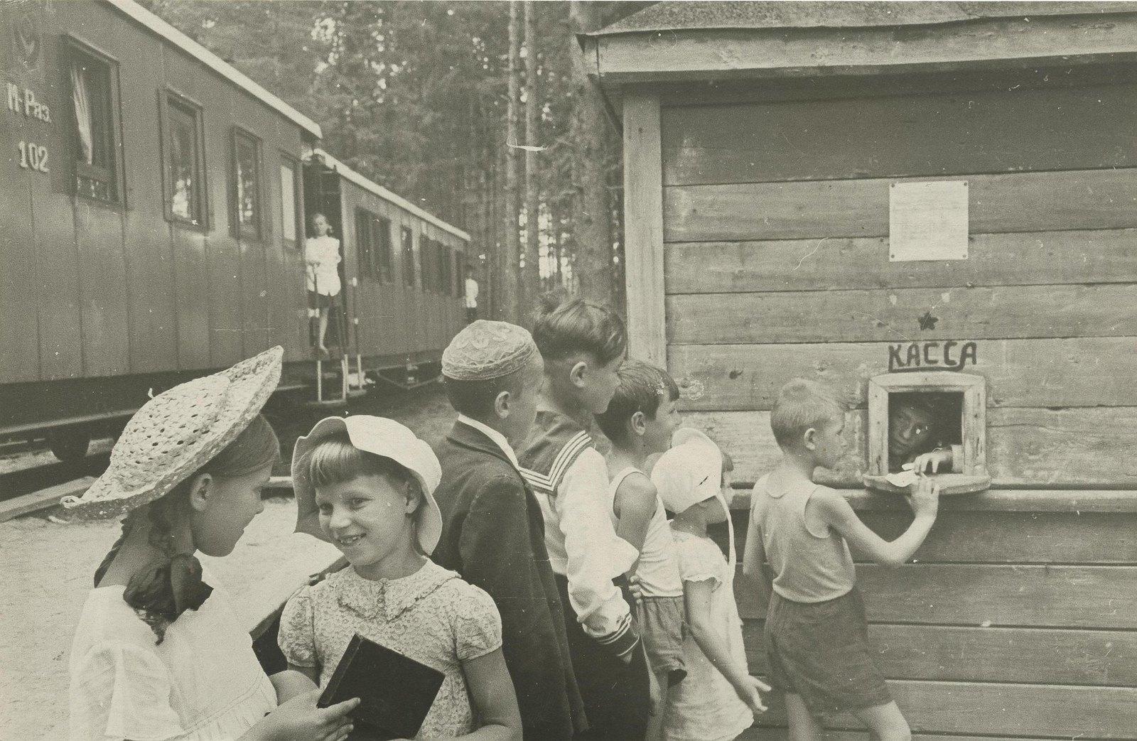 1946-1949. Детская железная дорога
