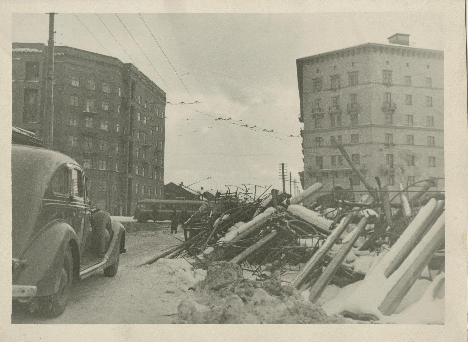1941. У Дорогомиловской заставы
