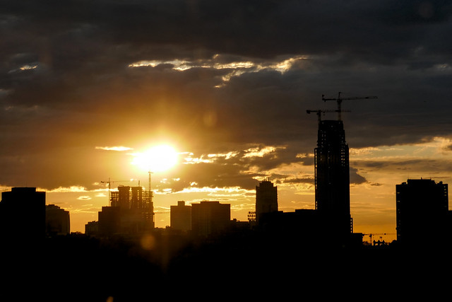 Sunset over Downtown Minneapolis