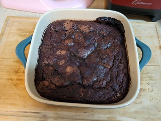 Chocolate Fudgy Puddin' Cake