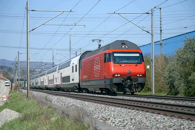 SBB Re 460 063 Itingen