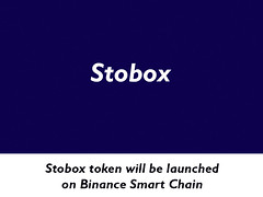 Stobox token will be launched on Binance Smart Chain