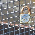 Lone padlock