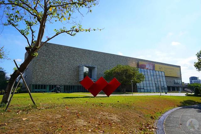 台中國美館阿勃勒