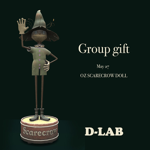 d-lab SCARECROW DOLL gg