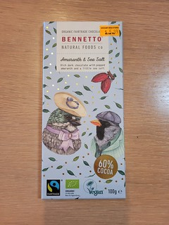 Bennetto Amaranth and Sea Salt Chocolate