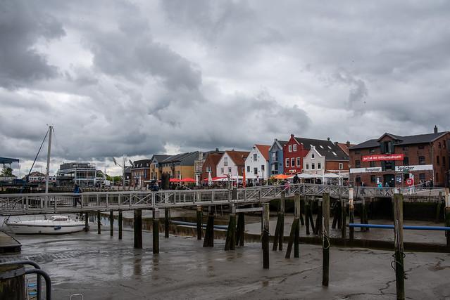 Husum alter Hafen / Husum old harbor