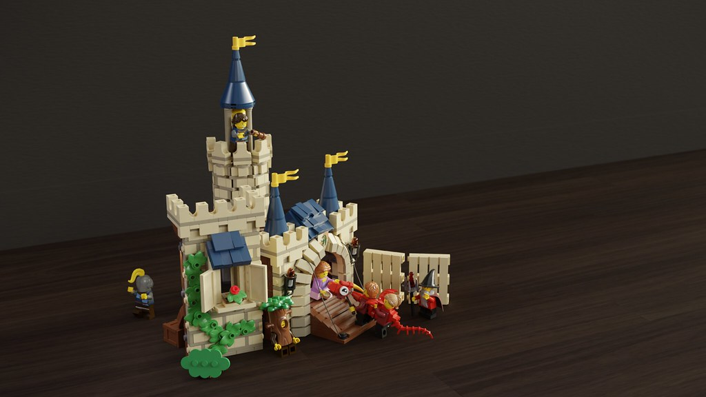[MOC] Tonight on Stage: Castle under Siege!