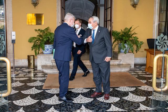 21.05. Secretário Executivo recebe o Ministro dos Negócios Estrangeiros da Finlândia