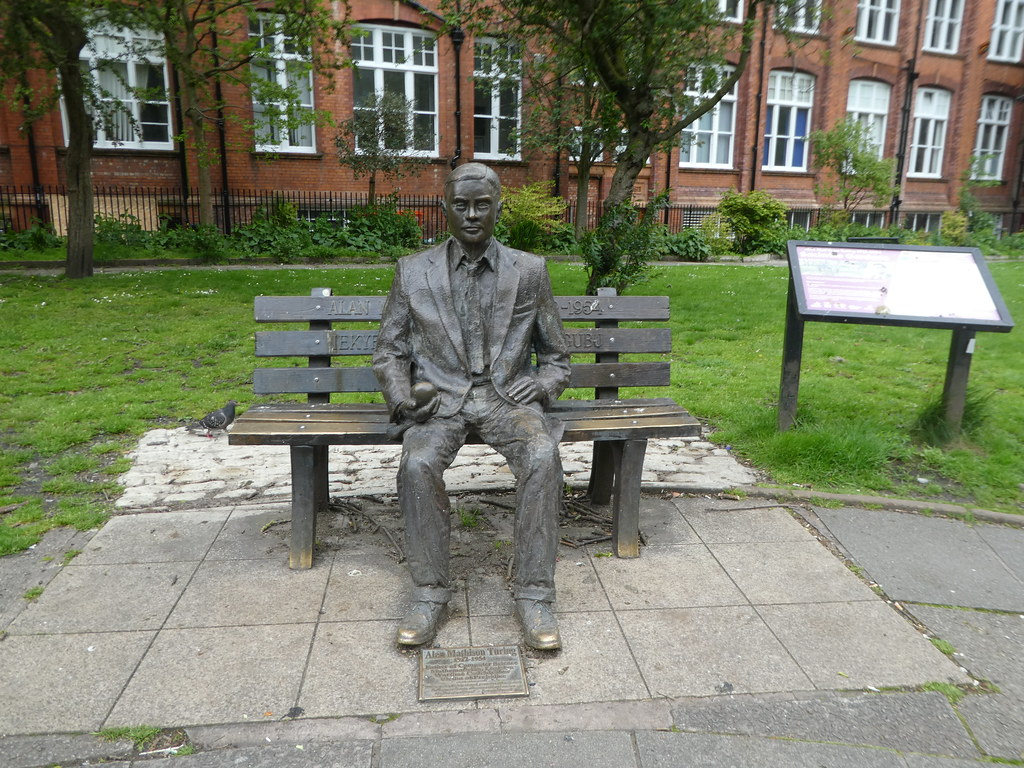 Statue of Alan Turning, Manchester