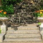 Victorian steps at Miller Park, Preston