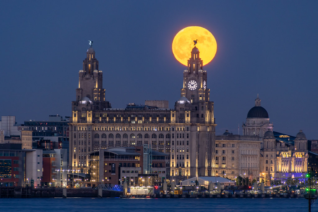Liverpool Moonrise