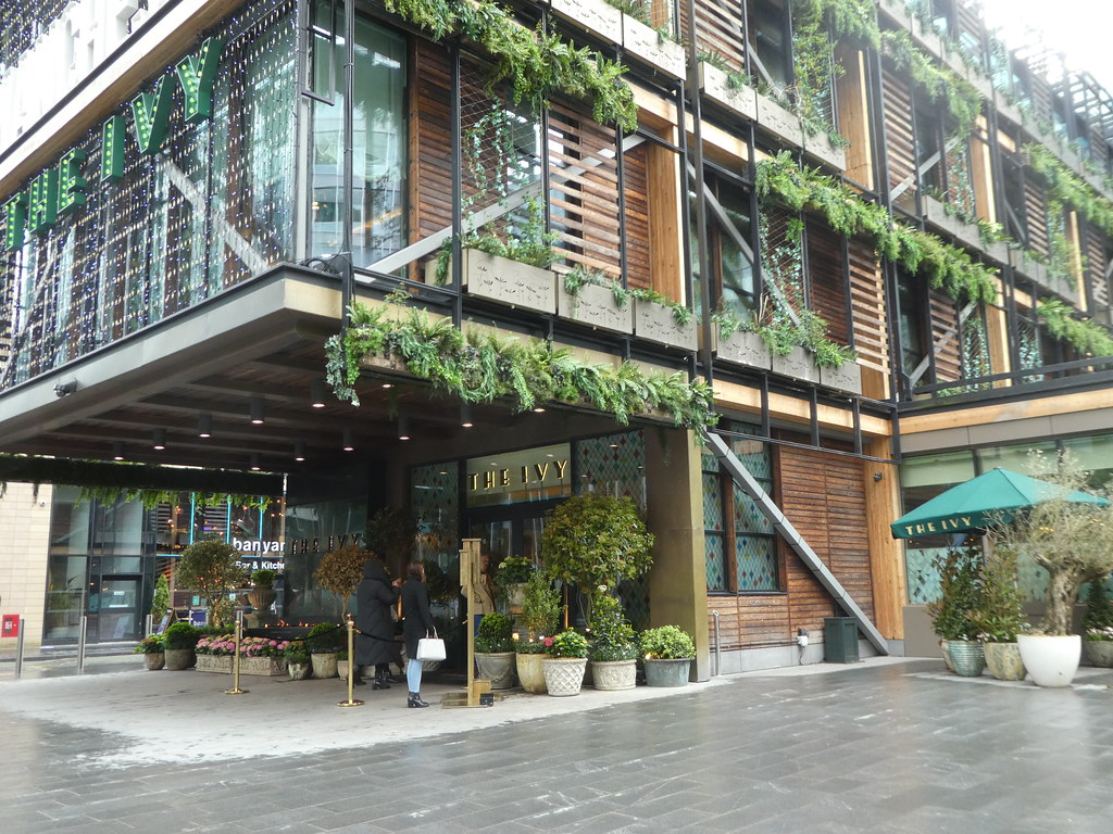The Ivy, Spinningfields, Manchester