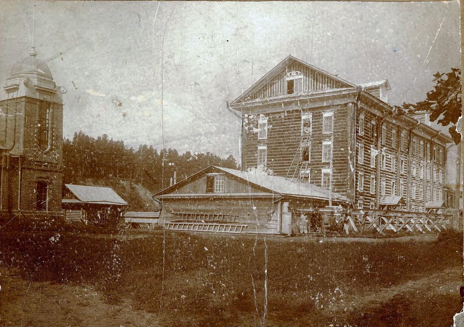 1880. Мельница купца Горохова с механическими мастерскими