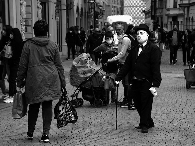 Charlie Chaplin in Leipzig