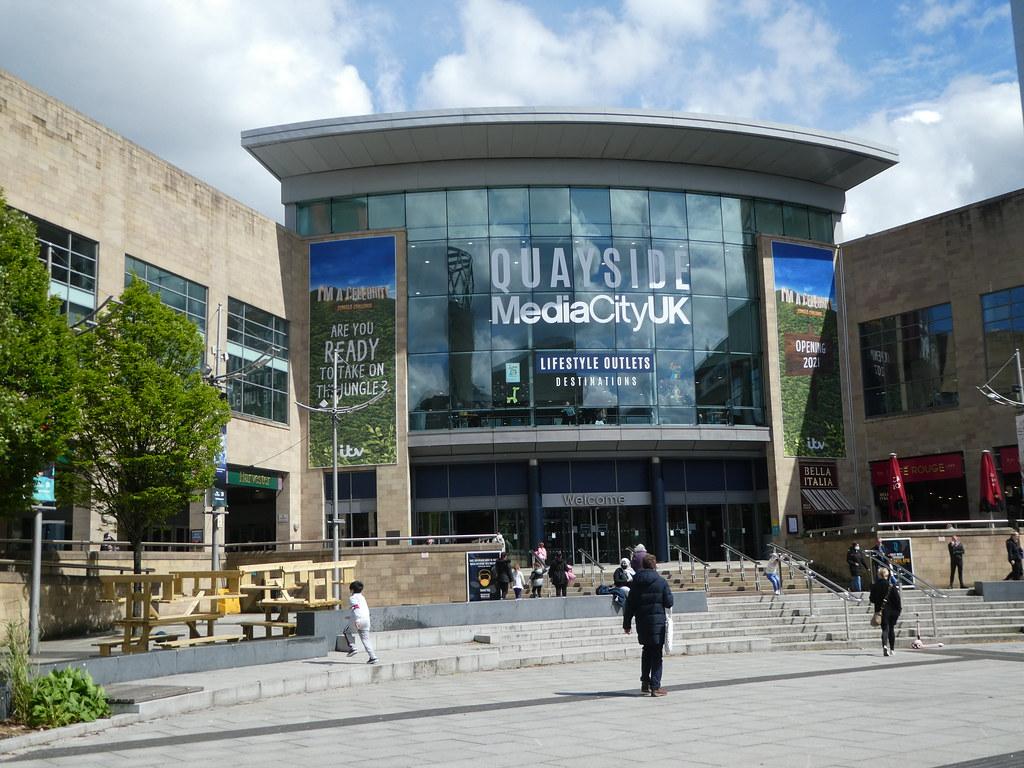Quayside, MediaCityUK, Manchester