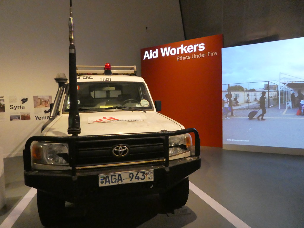 Aid Workers/ Ethics Under Fire exhibition, IWMN Manchester