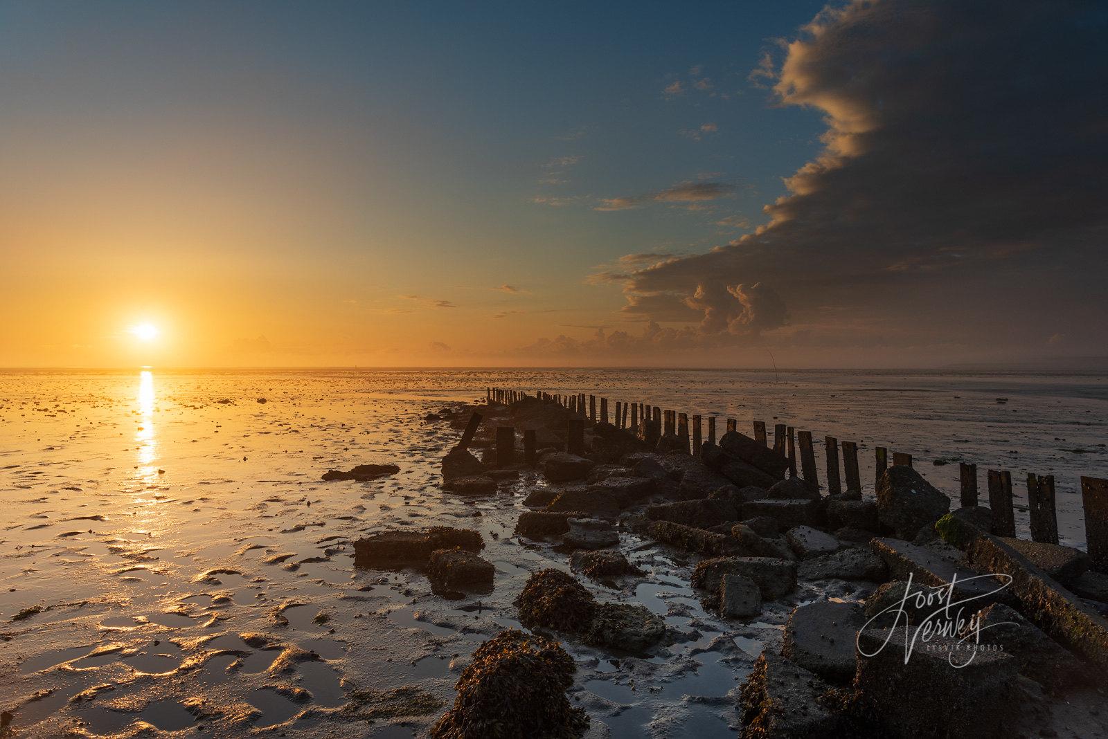 Sunrise Waddenzee Texel