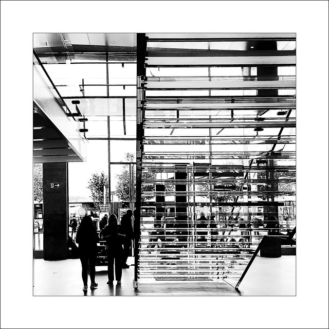 a shop made of glass