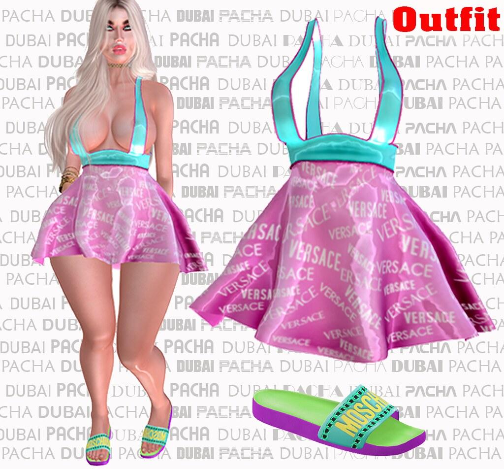 PACHA ** DUBAI ** DOLL – 19- Outfit