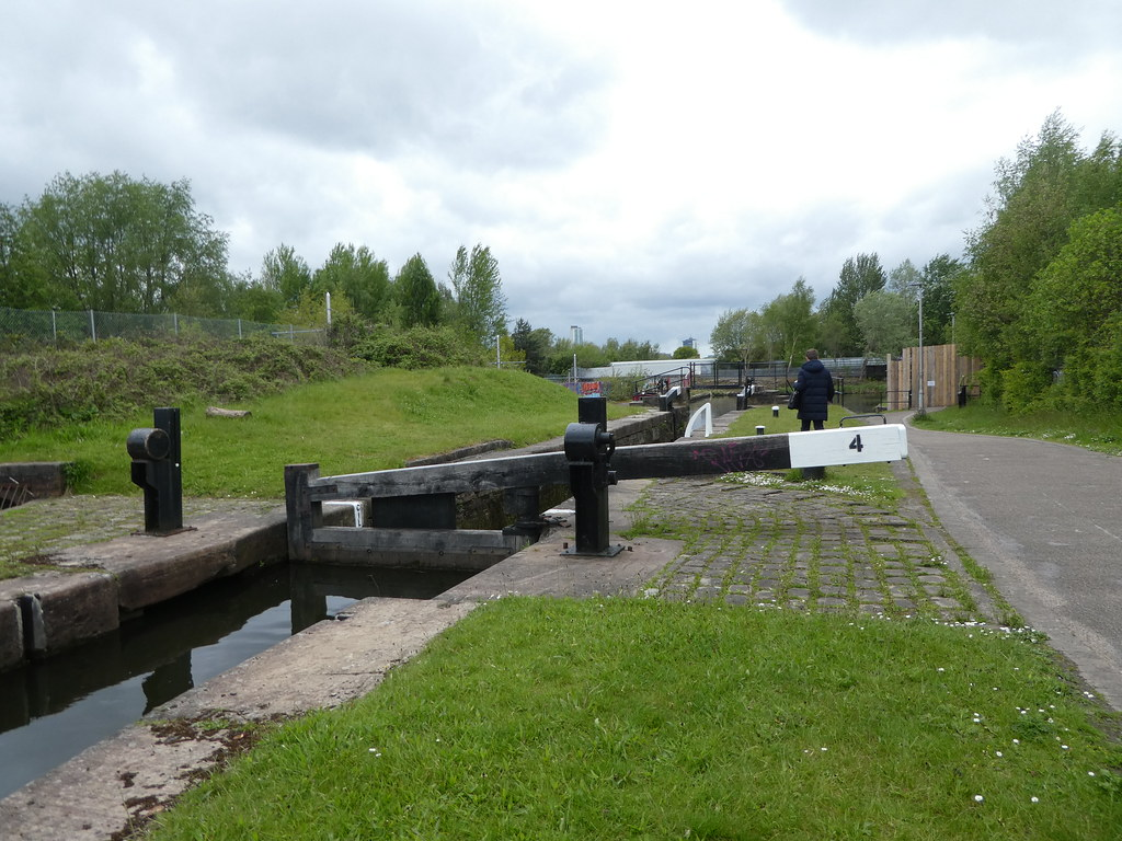 Lock on the Ashton Canal, Manchester