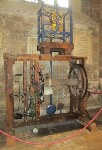 No Face Clock, Peterborough Cathedral