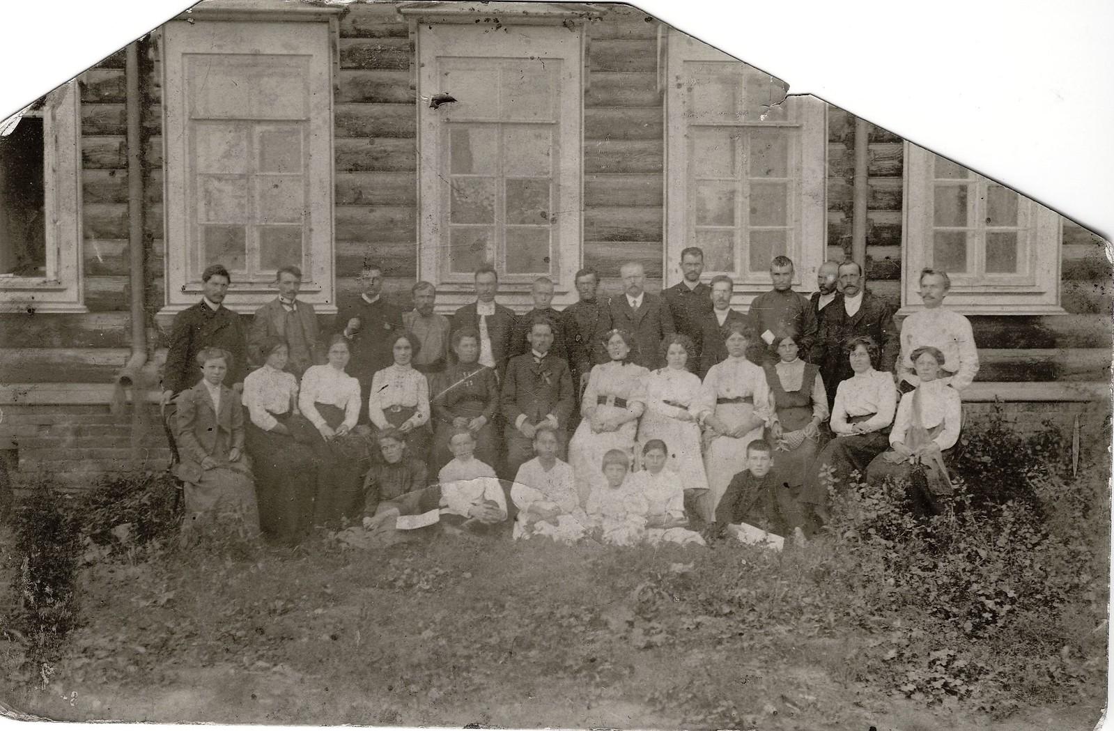 1910. Церковный хор Сретенской церкви